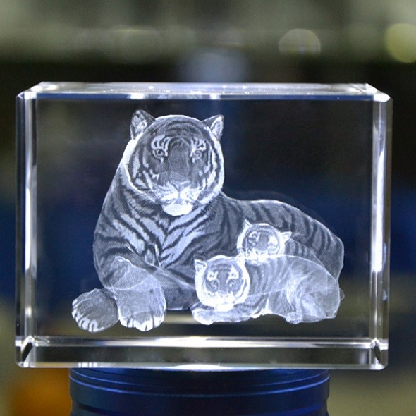 3d Laser Engraving Crystal Crystal Cube 3d Image Crystal
