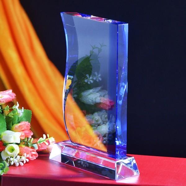 Blue Crystal Trophy DY-JB8015