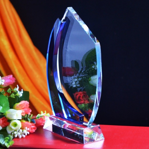 Blue Crystal Trophy DY-JB8017